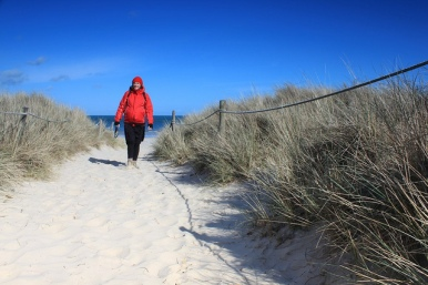 Walking Studland Beach