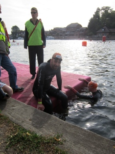 750m swim race at Marlow